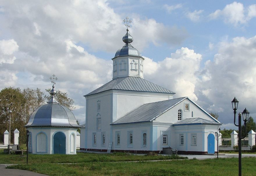 Спасская Церковь город Коряжма