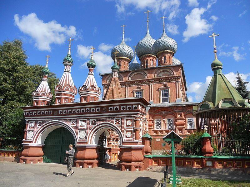 Церковь Вознесения на Дебре Знаменский Храм город Кострома