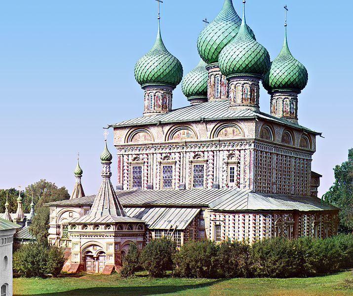 Церковь Вознесения в роще город Кострома