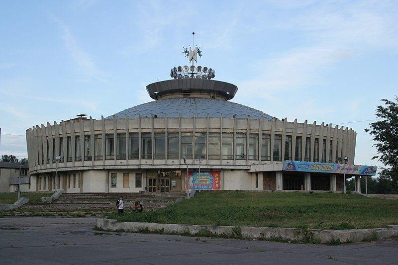 Смотреть красивое фото здание цирка в городе Кострома
