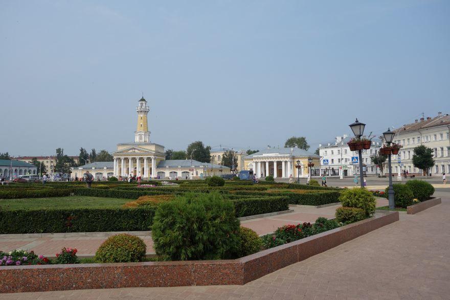 Скачать онлайн бесплатно лучшее фото достопримечательности города Кострома в хорошем качестве