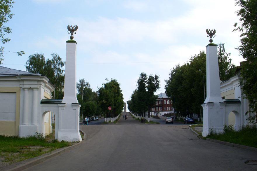 Московская застава город Кострома