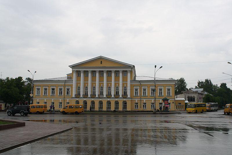 Площадь Сусанина город Кострома