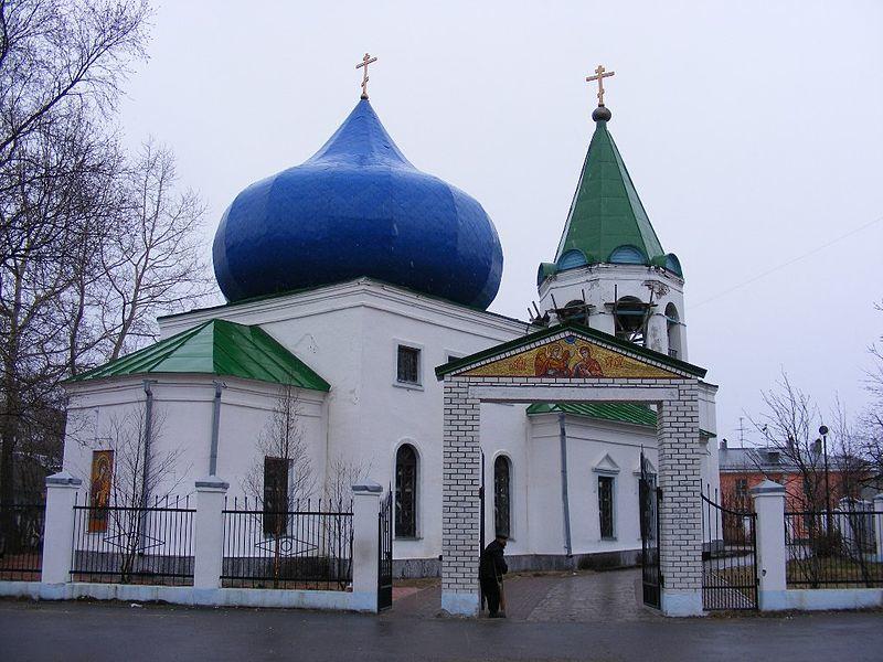 Церковь Благовещения Пресвятой Богородицы город Кола