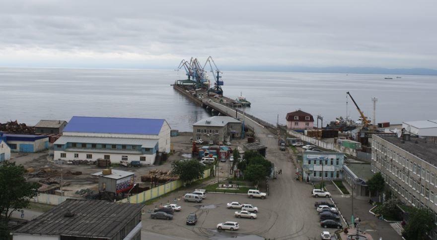 Смотреть красивое фото города Корсаков в хорошем качестве