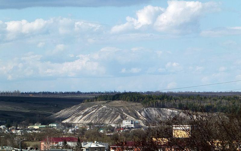Скачать онлайн бесплатно красивое фото Белая гора в городе Короча 2018