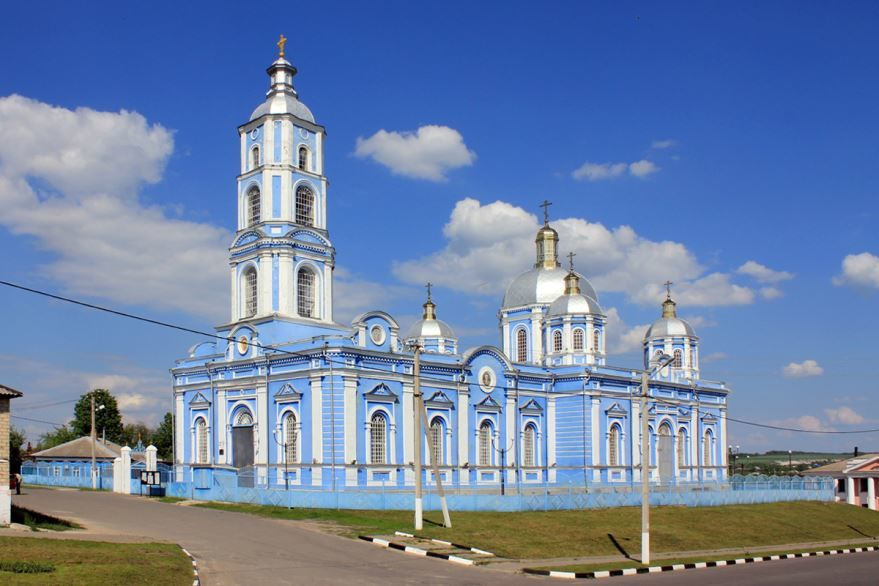 Храм Рождества Пресвятой Богородицы город Короча