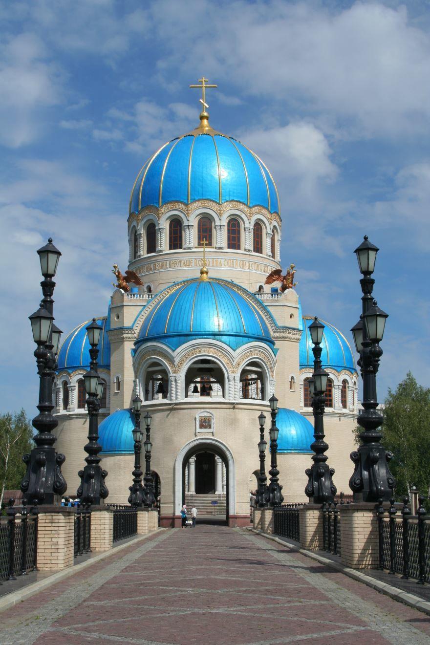 Церковь Троицы на Борисовских прудах город Коломна