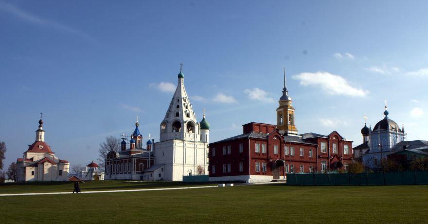 Скачать онлайн бесплатно лучшее фото Кремль города Коломна в хорошем качестве