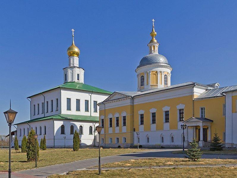 Старо-Голутвин монастырь город Коломна Московской области