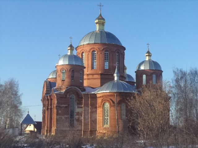 Храм Покрова Пресвятой Богородицы город Кораблино
