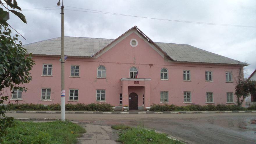 Смотреть лучшее фото Здание администрации города Кораблино в хорошем качестве