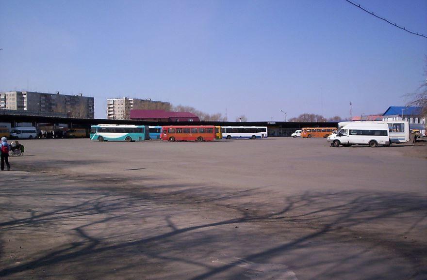 Автовокзал города Копейска