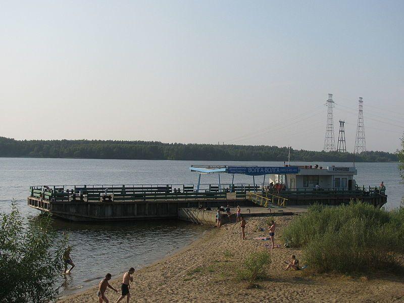 Речная пристань город Конаково