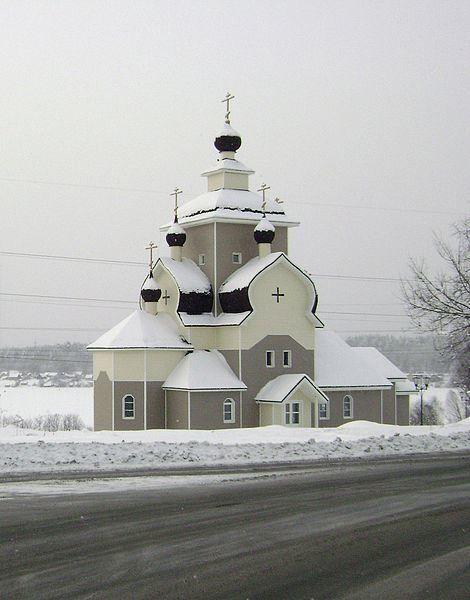 Православная церковь Рождества Пресвятой Богородицы город Кондопога