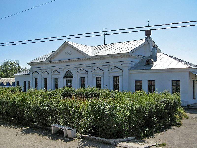 Железнодорожный вокзал город Кондопога 2019