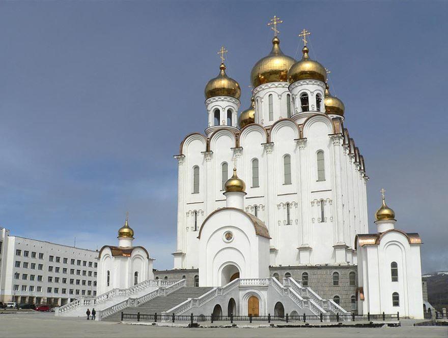 Магаданский Троицкий Собор