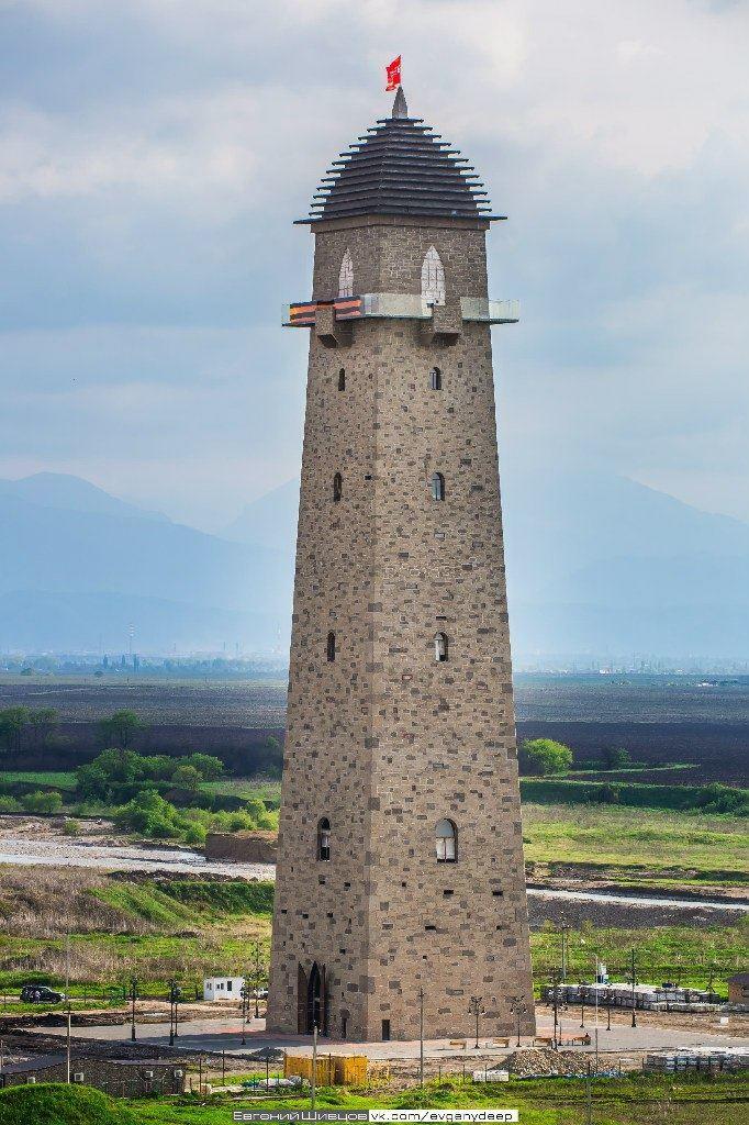 Башня Согласия город Магас