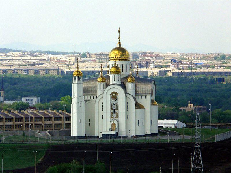 Смотреть красивое фото Храм в городе Магнитогорск
