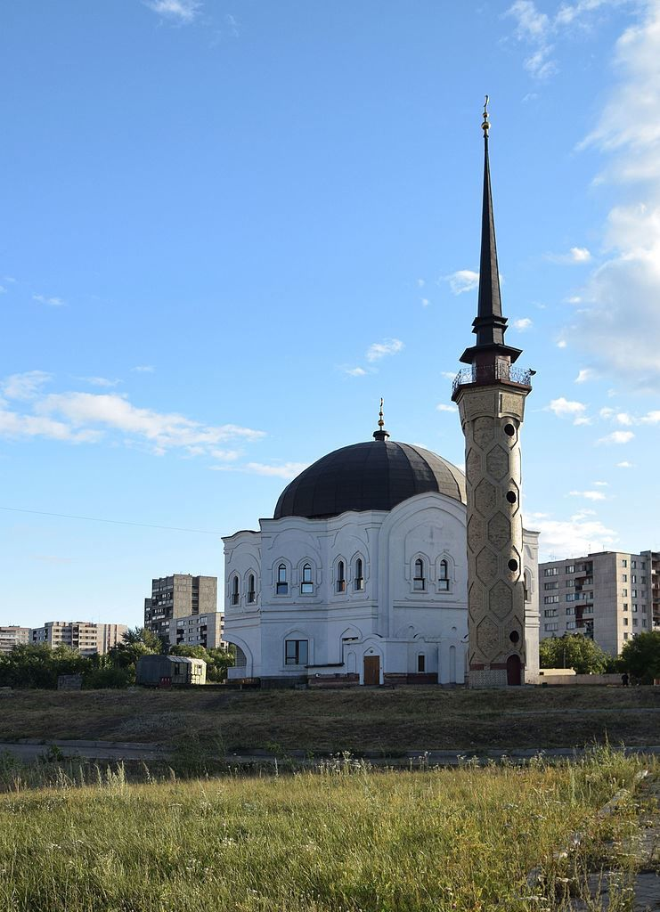 Соборная мечеть город Магнитогорск