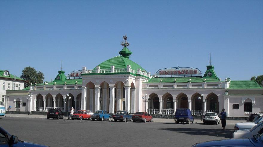 Железнодорожный вокзал город Майкоп