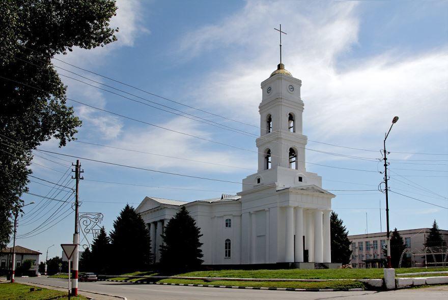 Лютеранская церковь Святой Троицы город Маркс