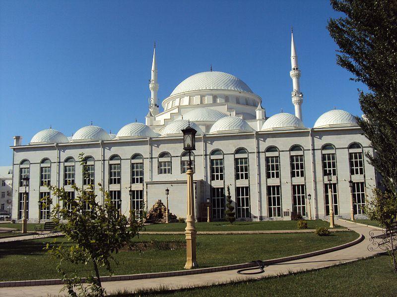 Смотреть красивое фото Центральная мечеть Махачкалы Республика Дагестан