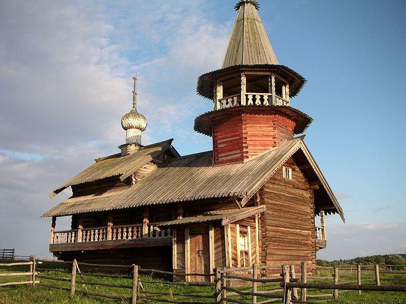 Часовня Петра и Павла Республика Карелия город Медвежьегорск