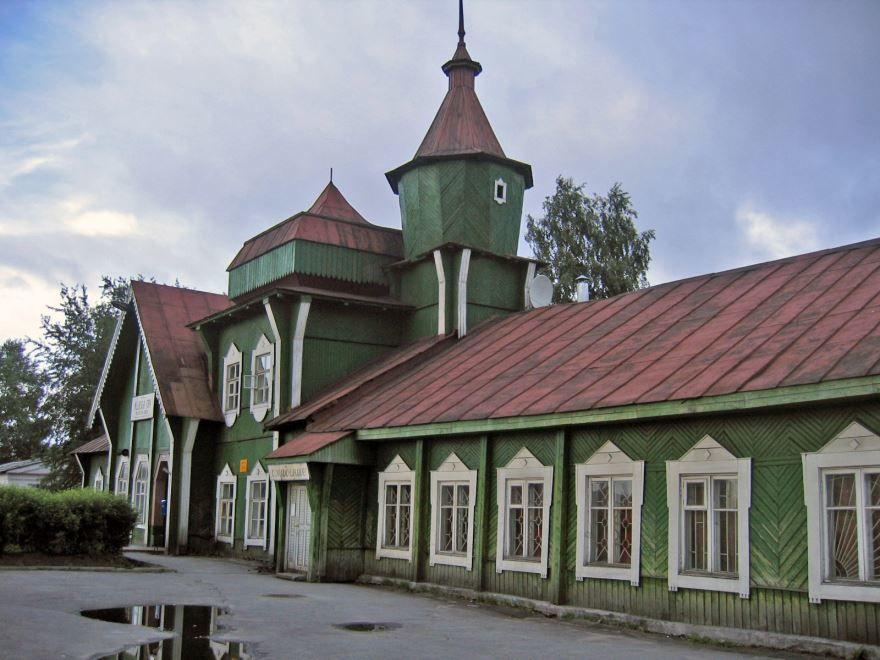 Железнодорожный вокзал город Медвежьегорск