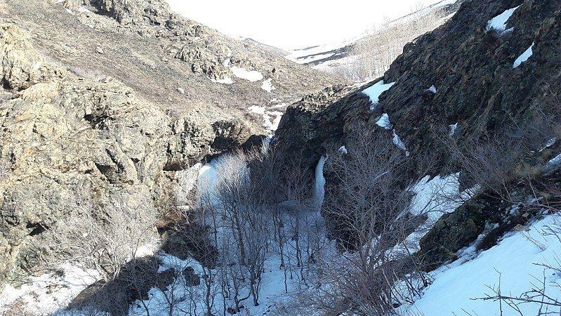 Пещера Салавата Юлаева в окрестностях города Медногорска