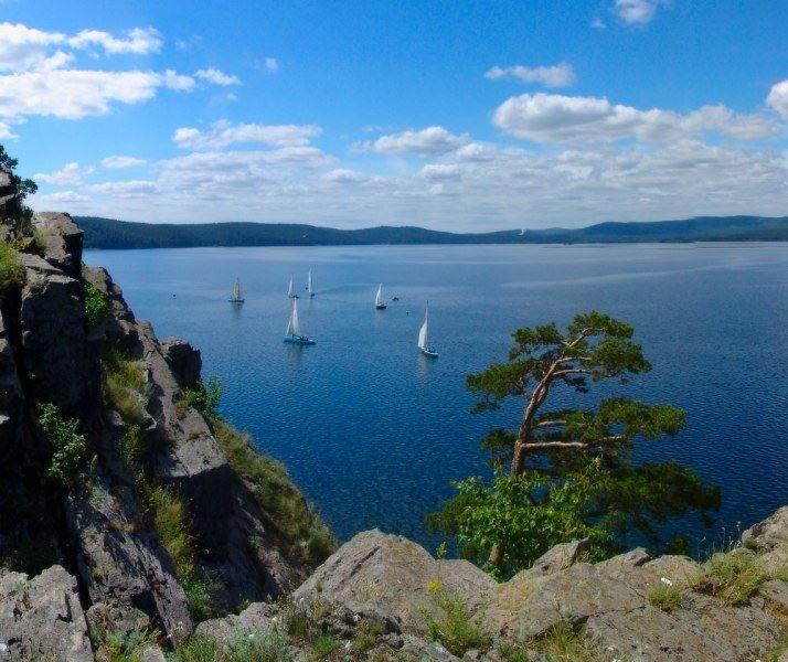 Озеро Тургояк город Миасс