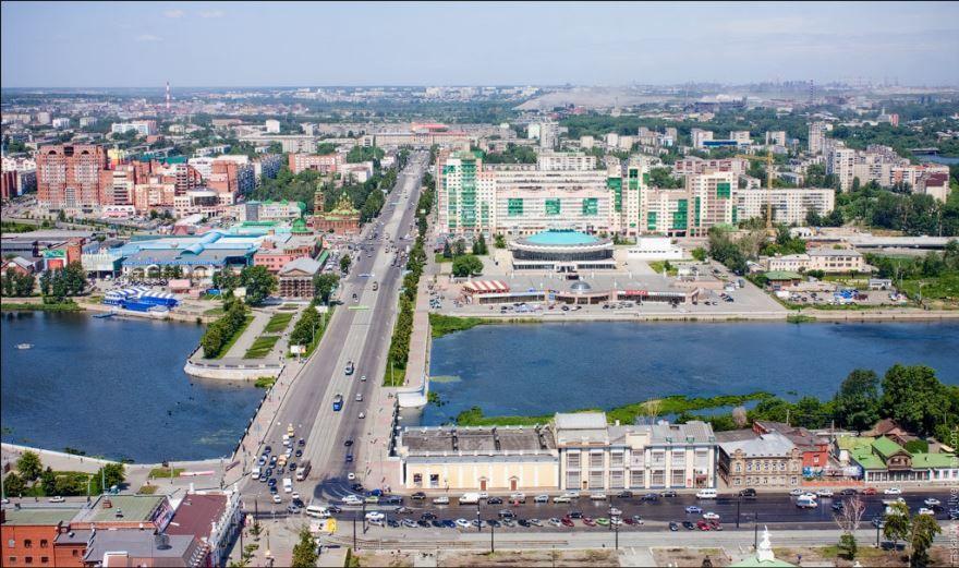 Смотреть красивое фото вид сверху город Миасс