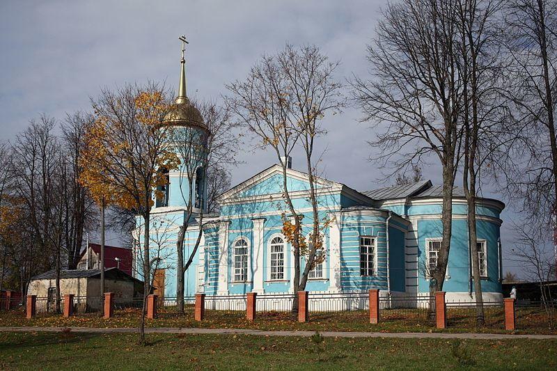 Казанская церковь город Медынь