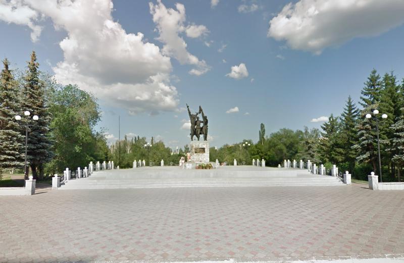 Памятник посвященный Великой Отечественной войне 1941-1945 годы
