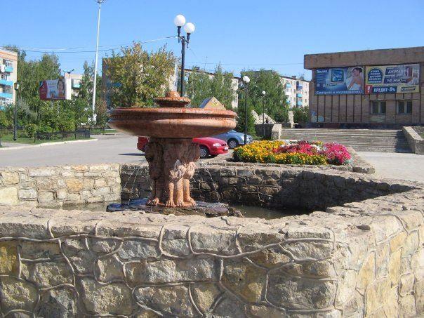 Смотреть красивое фото фонтан в городе Менделеевск 2018
