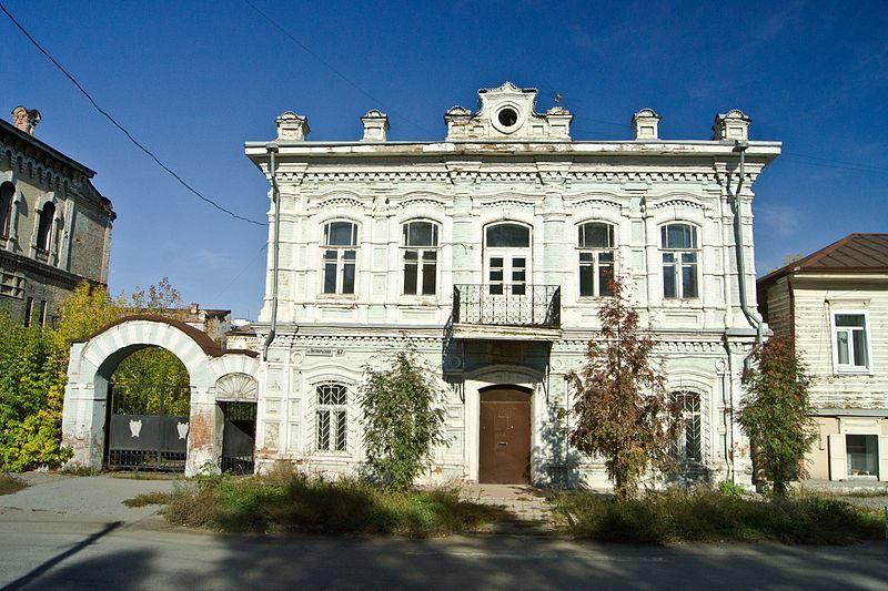 Смотреть красивое фото с красивой архитектурой города Минусинск в хорошем качестве