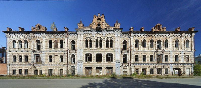 Дом Вильнера город Минусинск