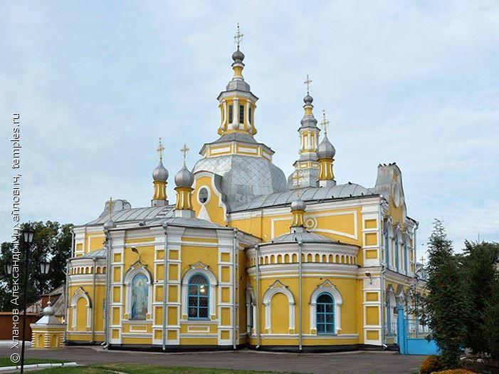 Спасский Собор город Минусинск