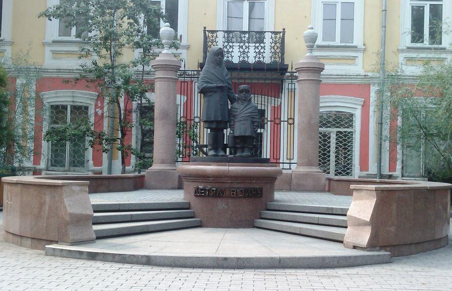 Памятник детям войны город Можга