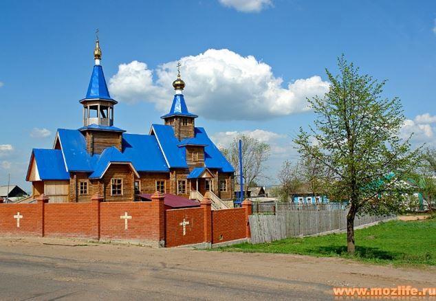 Свято-Никольская церковь город Можга