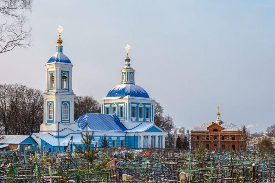 Церковь Иконы Божией Матери город Мичуринск
