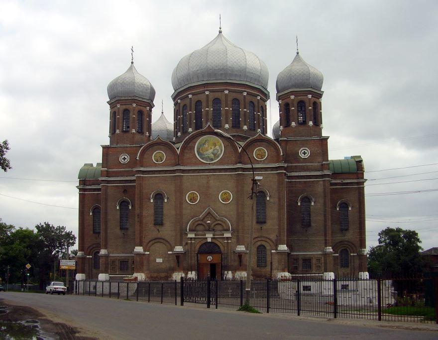 Боголюбский собор город Мичуринск