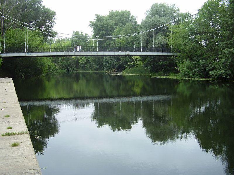 Мост через Лесной город Мичуринск