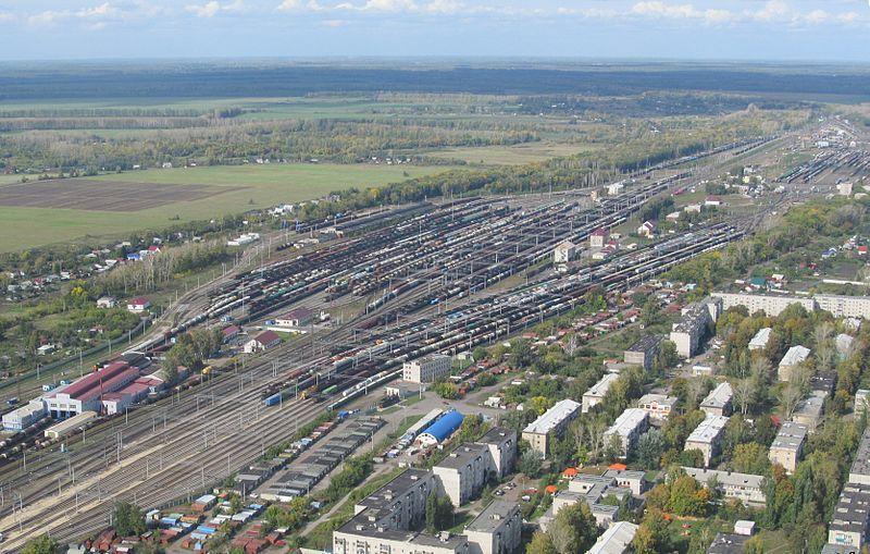 Смотреть красивое фото вид сверху город Мичуринск 2019