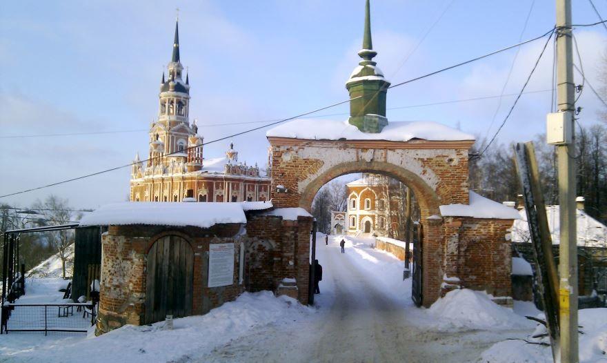 Никольский собор ворота город Можайск