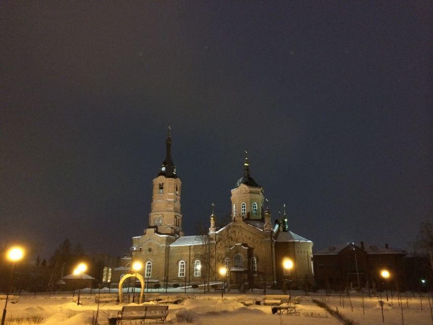 Собор Святого Александра Невского главный храм города Кургана и Курганской области