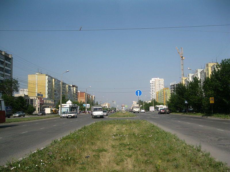 Проспект Маршала Голикова город Курган