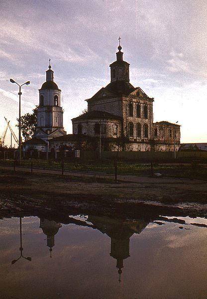 Церкви Дьякона Стефания и Святого Стефания Пермского город Котлас