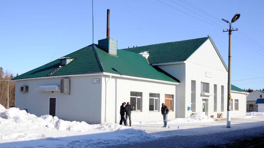 Вокзал станции Котлас-Узловой