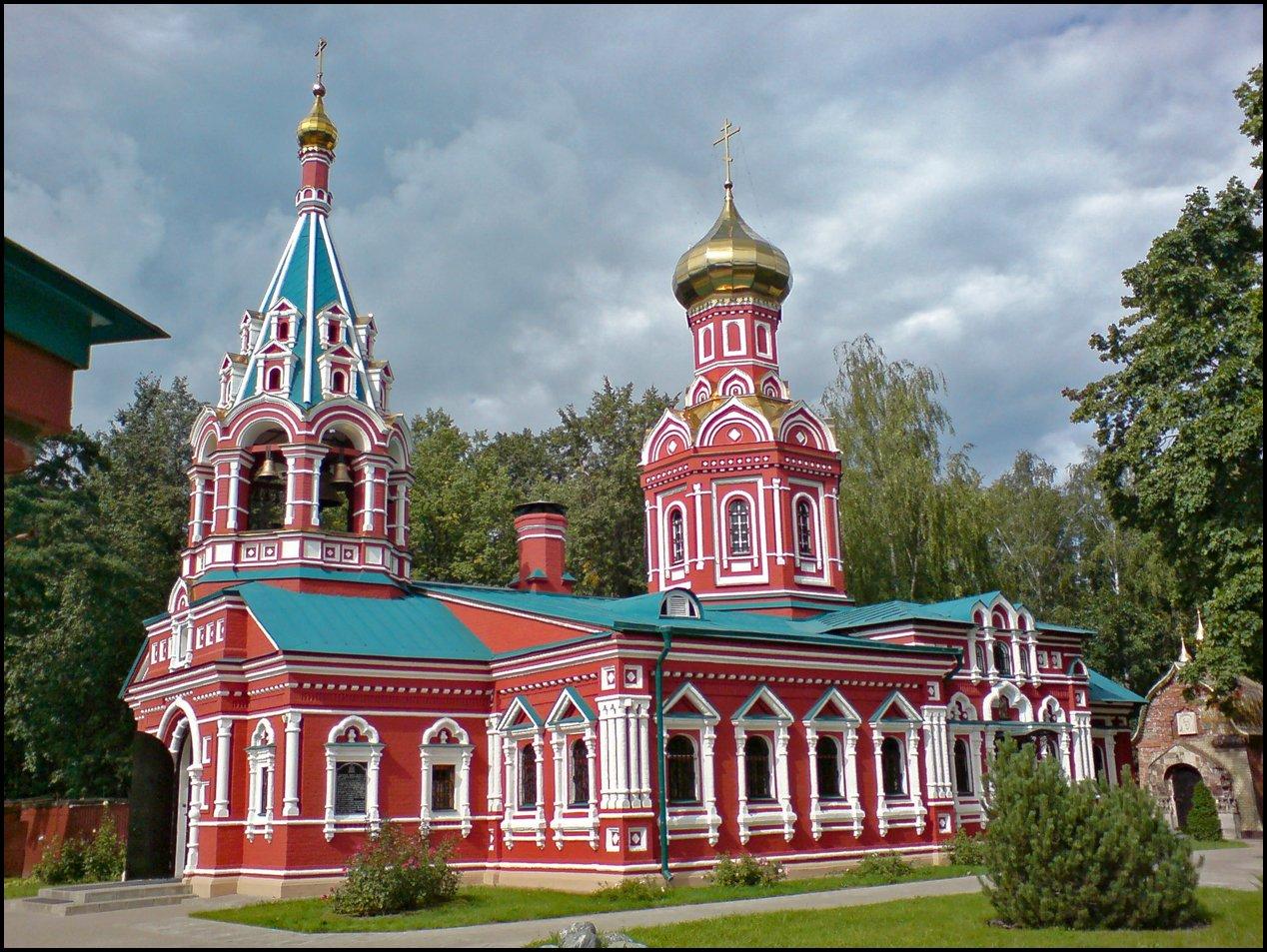 Знаменская церковь город Красногорск